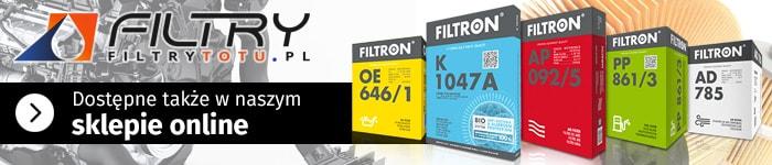 Filtry Filtron - sklep internetowy