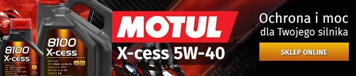 Motul 8100 X-cess 5w40 - sklep internetowy